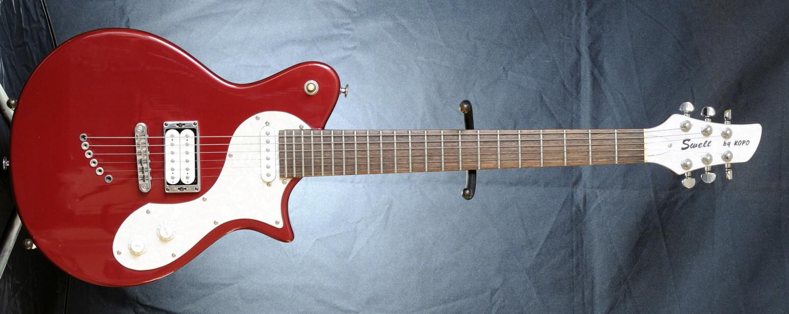 Guitares électriques de luthiers